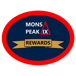 mons peak ix rewards program logo