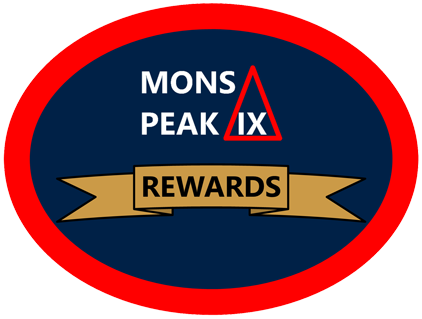 mons peak ix rewards program