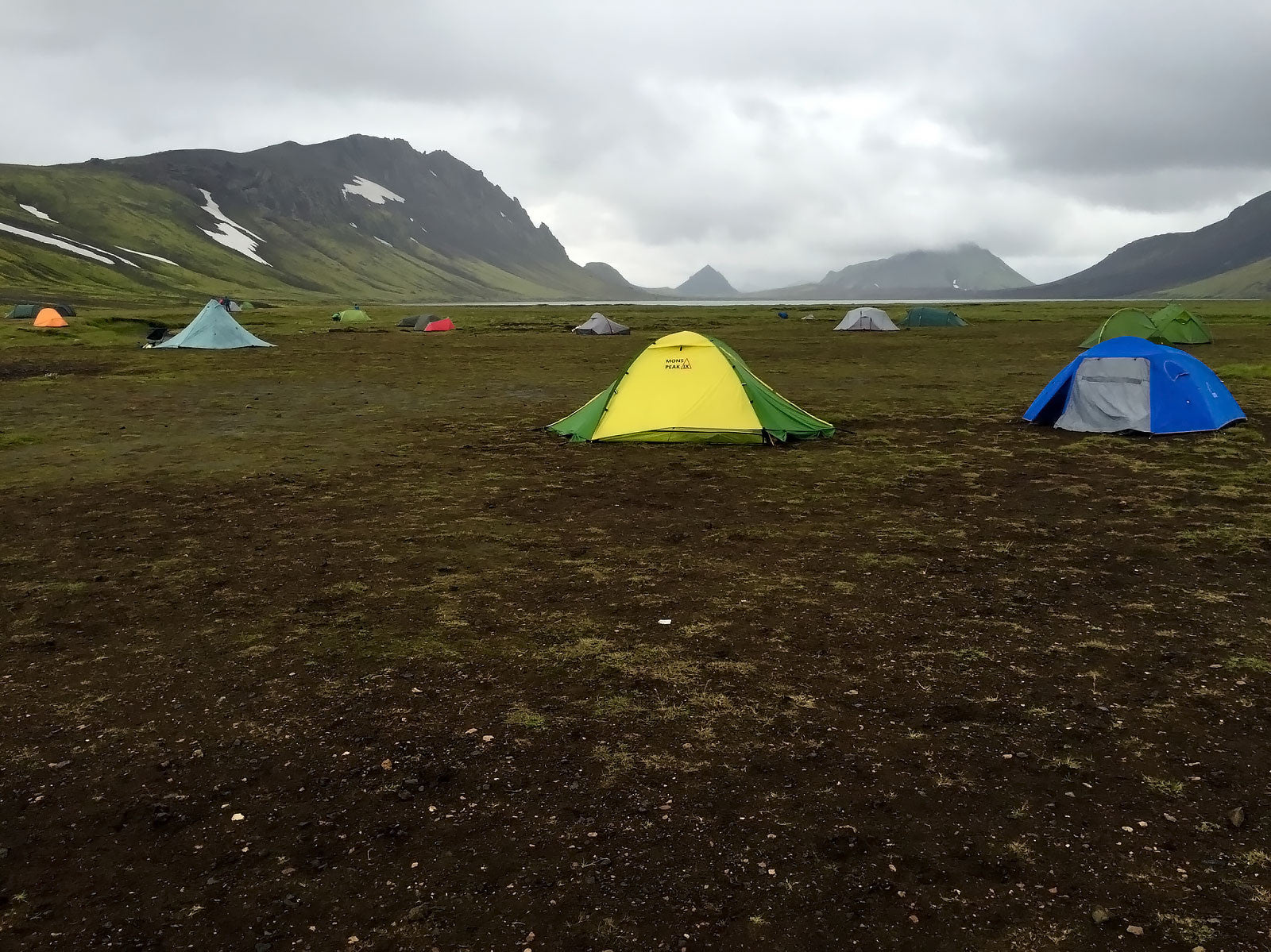 mons peak ix trail 43 tent in iceland 2