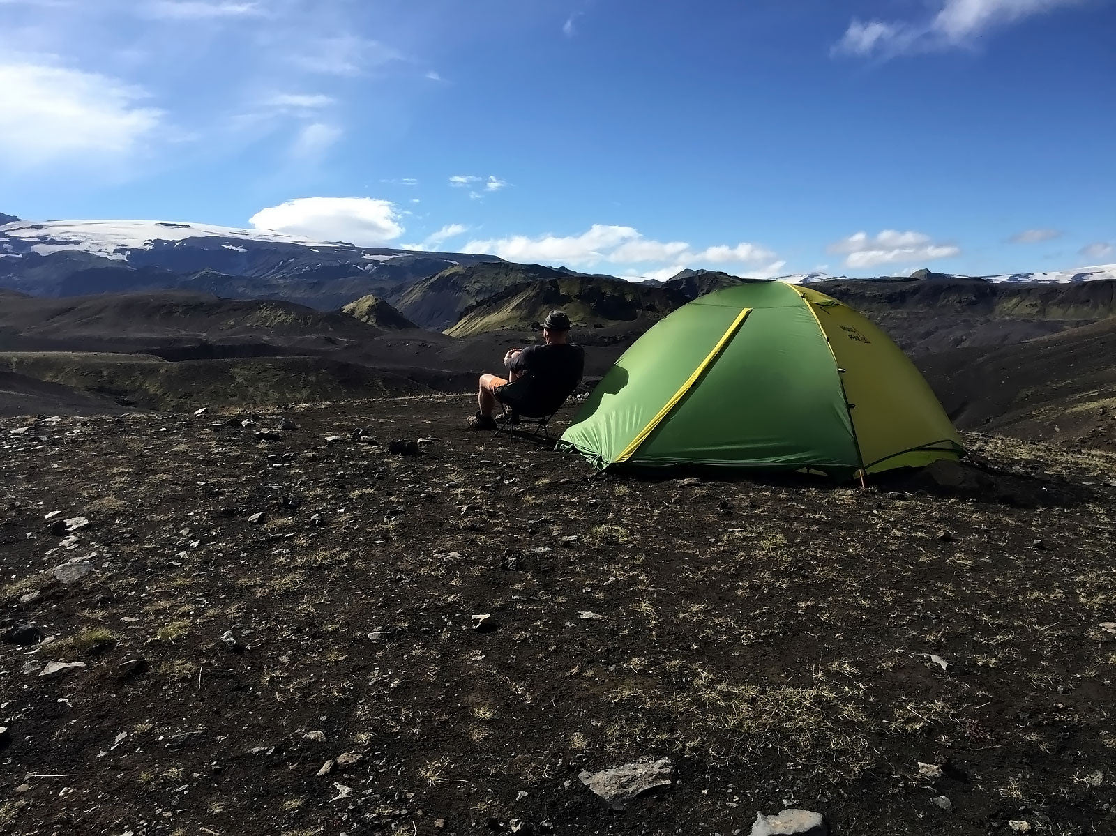 mons peak ix trail 43 tent in iceland 1
