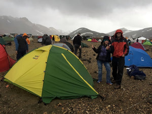 mons peak ix trail 43 tent in iceland 4