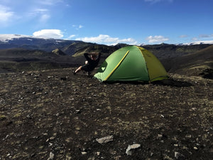 mons peak trail 43 tent in iceland 3