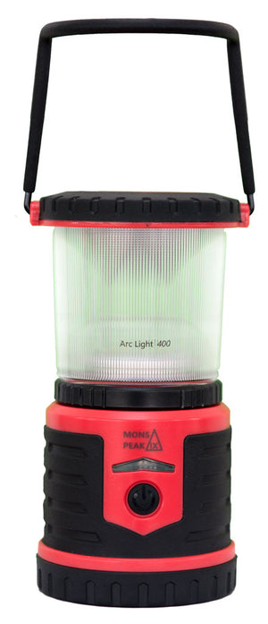 Arc Light 400 Rechargeable LED Lantern with Power Bank