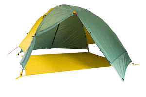 mons peak ix night sky 3 person and 4 person tent 4 person fly footprint view