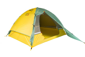 mons peak ix night sky 3 person and 4 person tent 4 with door and fly view