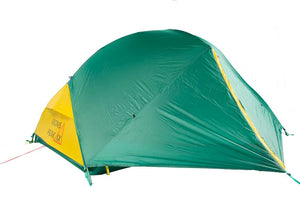 Trail 21+ 2 Person and 1+ Person 2-in-1 Backpacking Tent (Both Sizes Included)