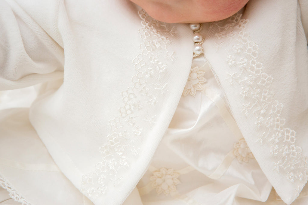 Christening Dress and Cardigan Set 'Angel'