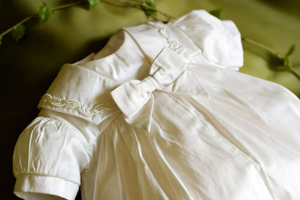 Christening outfit for Tiny Babies 'Cherub'