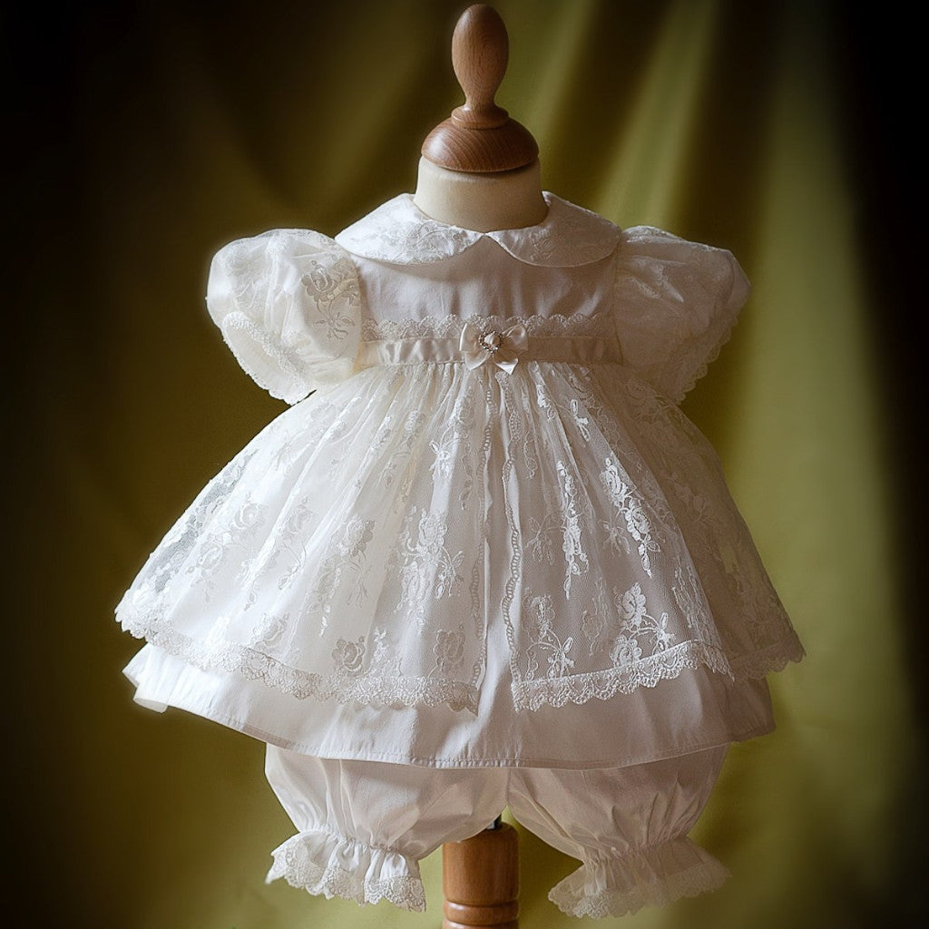 Christening Dress and Bloomers 'Chloe'