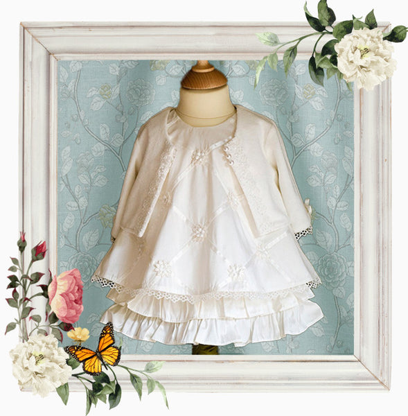 Angel Christening Dress Set