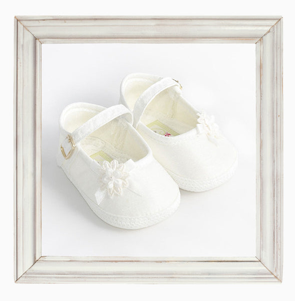 Girls Christening Shoes 'Angel'