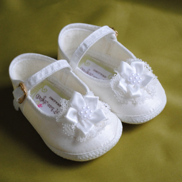 Girls Christening Shoes 'Olivia'
