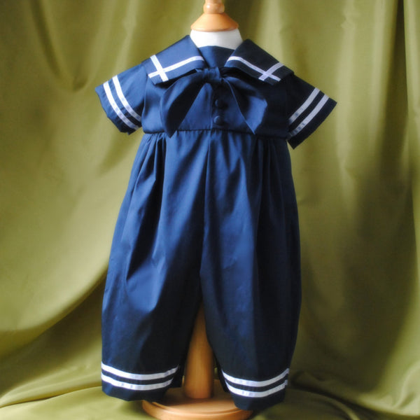 Sailor suit 'Noah' Boys Christening outfit