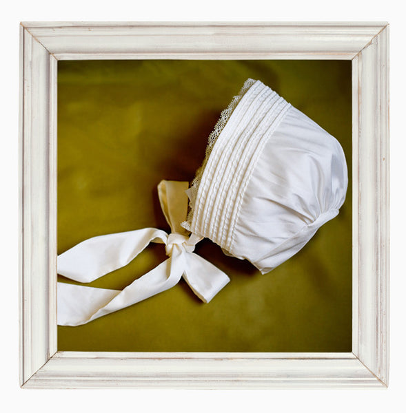 Faith traditional Christening Bonnet