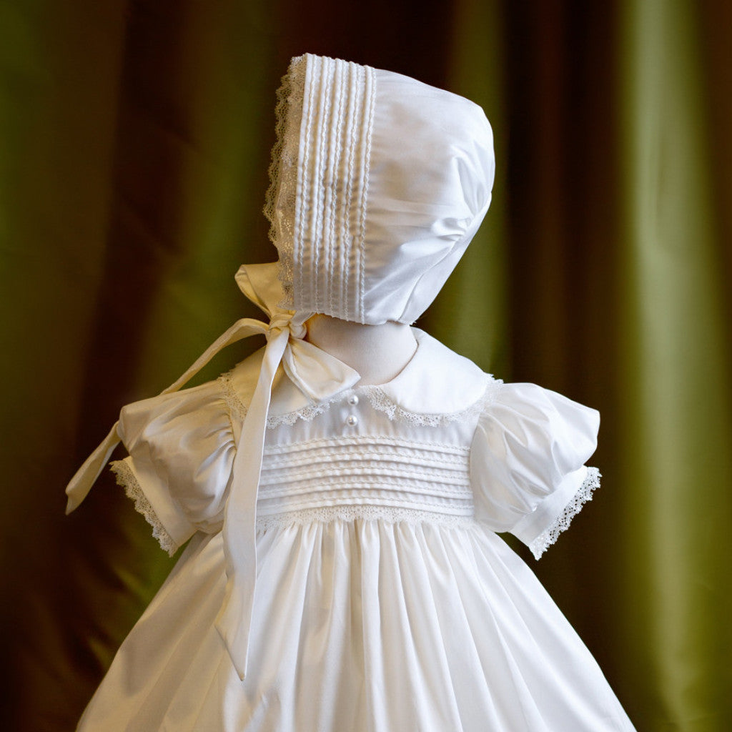 Christening Gown and Bonnet Set 'Faith'