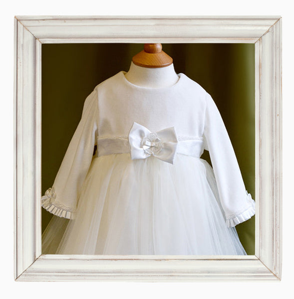 Grace Winter Christening Gown