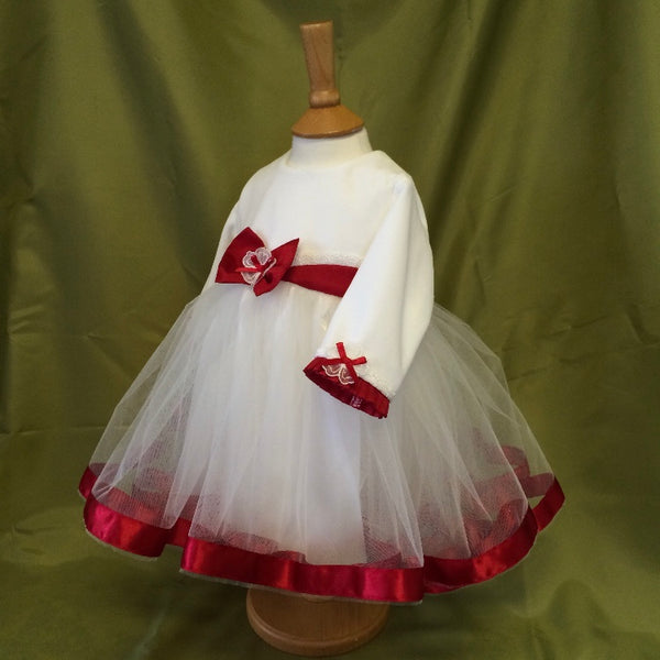 Christening Dress 'Grace' Valentine edition