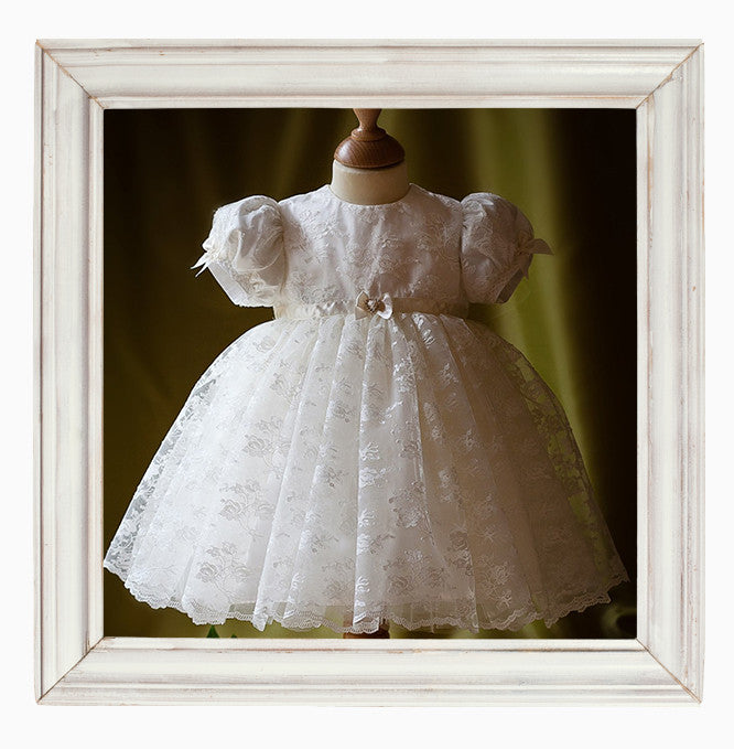 Lace Christening dress 'Maria'