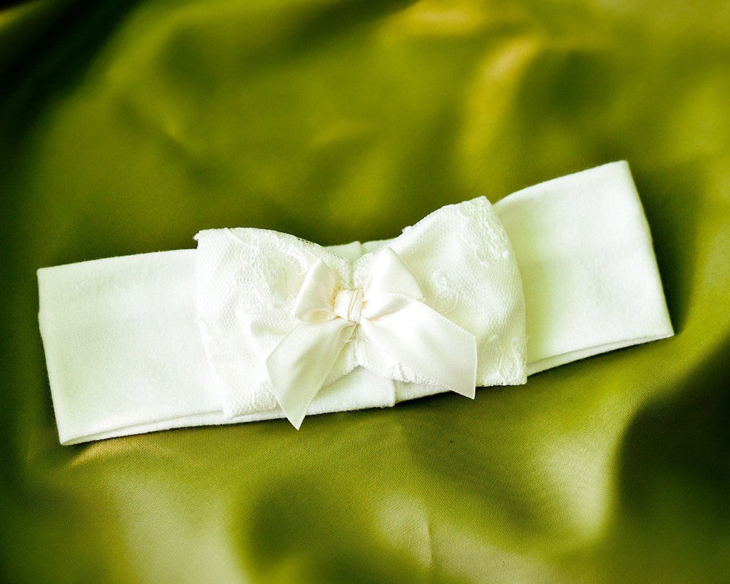 Christening Hair Band 'Maria'