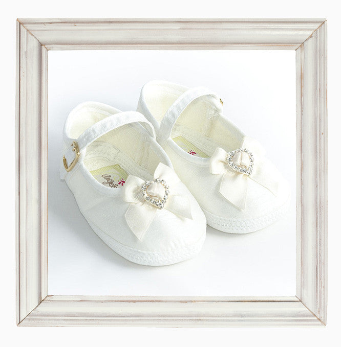 Girls Christening Shoes 'Maria'