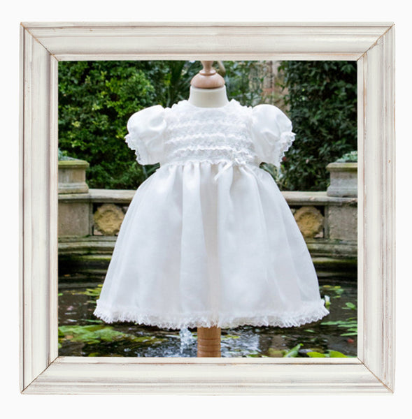 Christening Dress and Hairband Set 'Olivia'