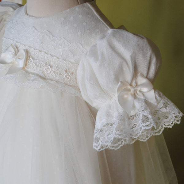 Pheobe Christening Gown   -    Limited edition