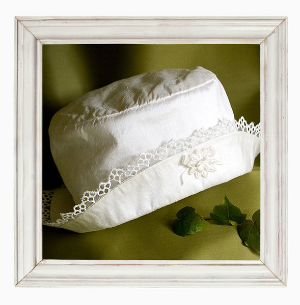 Angel Girls Christening Hat