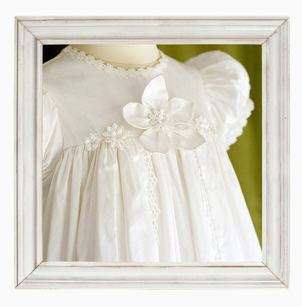 Flower Fairy Christening Gown