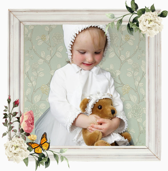 Christening Bonnet 'Grace'