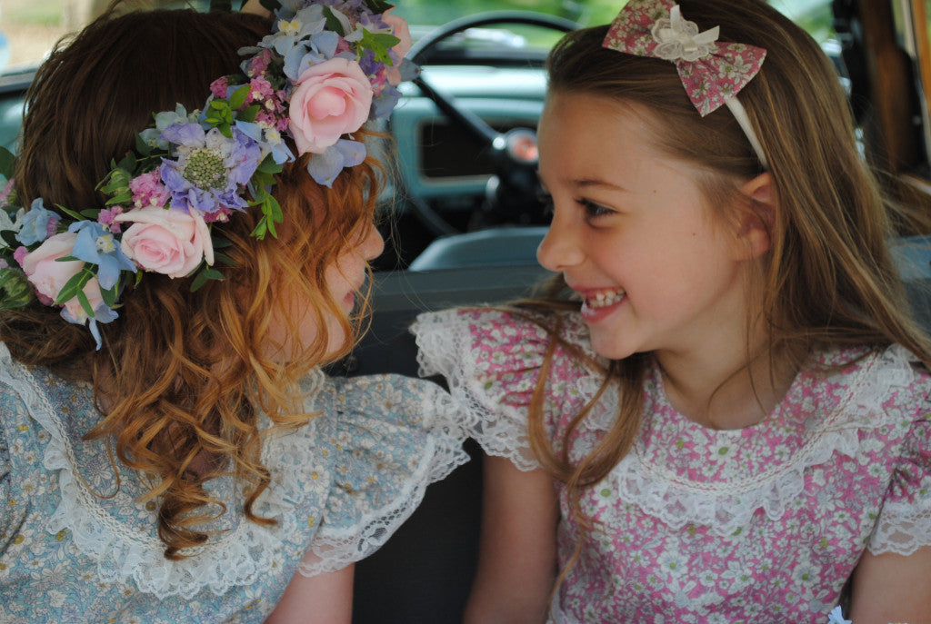 Flower Girl Hairband 'Alice'