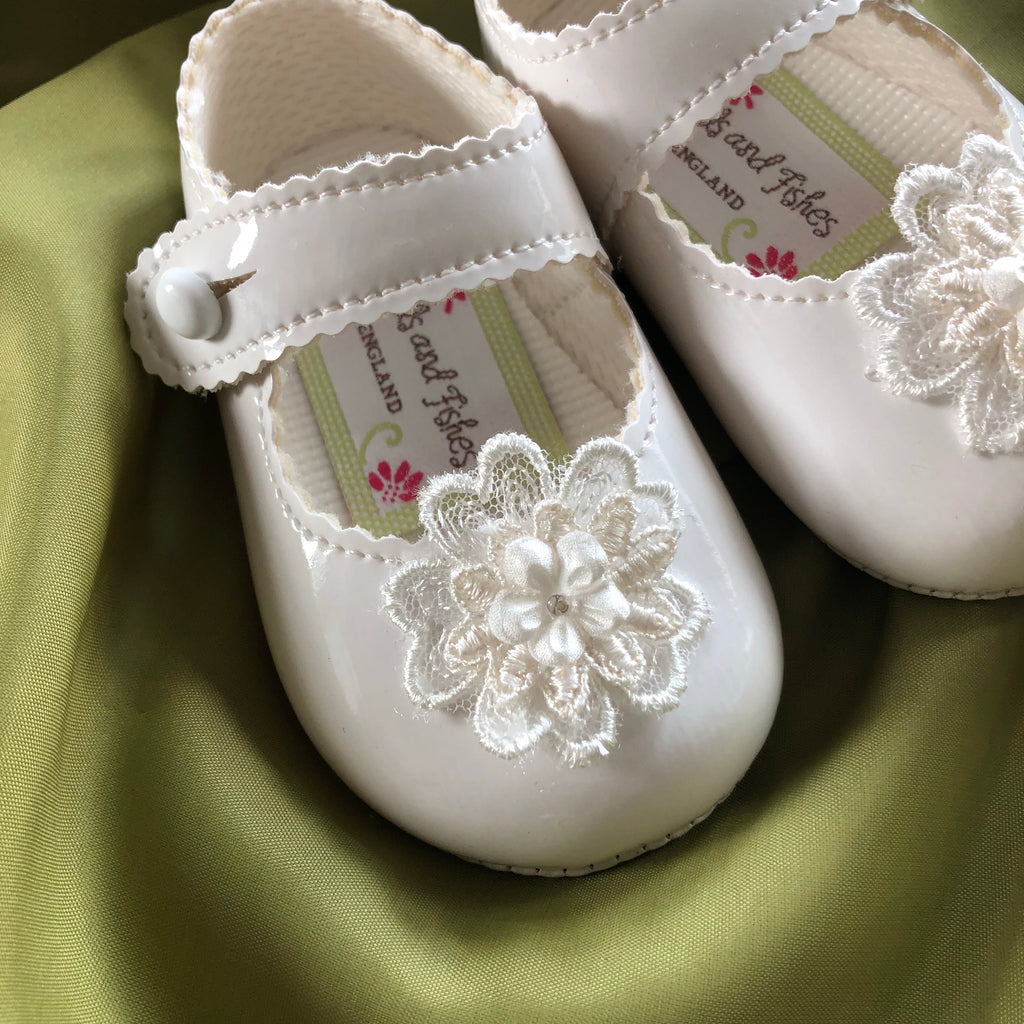 Girls Christening Shoes 'Promise Patent'