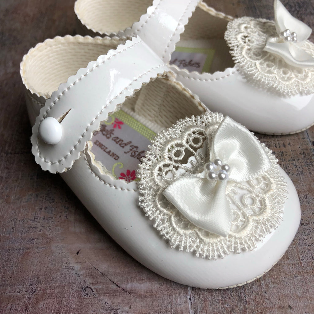 Girls Christening shoes 'Valencia'
