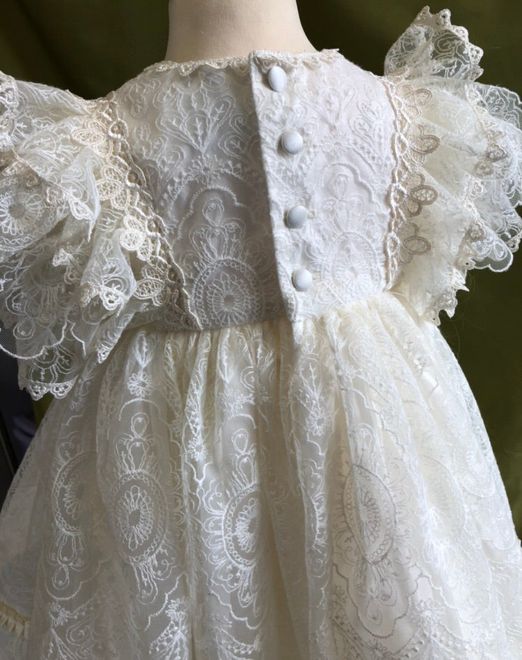 Royal Christening Gown deluxe set