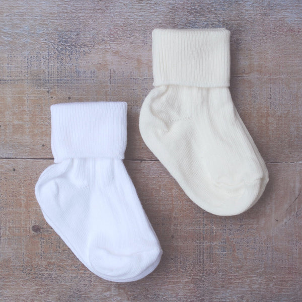 Plain Christening Socks