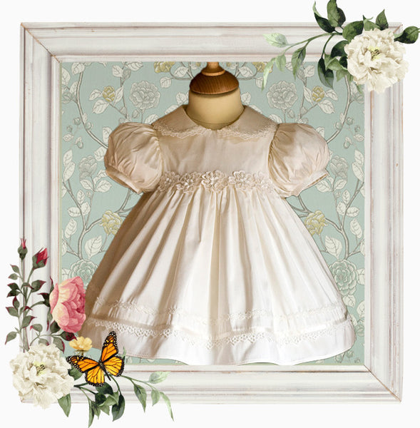 Promise Silk Christening Dress