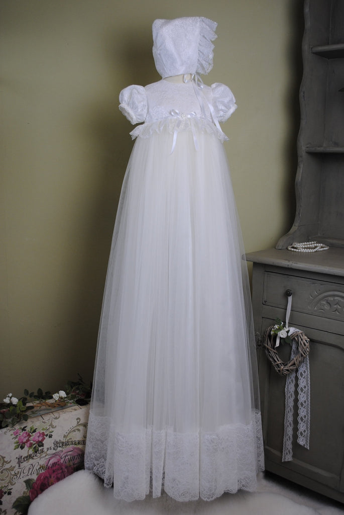 Christening Gown and Bonnet 'Serenity'