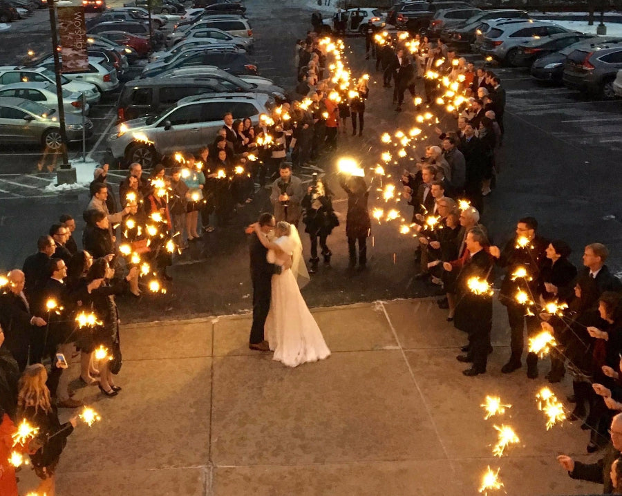 email a video of you and your wedding sparklers to sparklers10weddingsparklersdirectcom if selected youll get a free amazon gift card