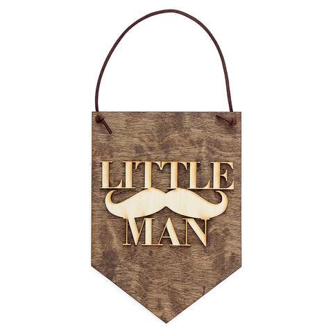 'Little Man' Wall Sign