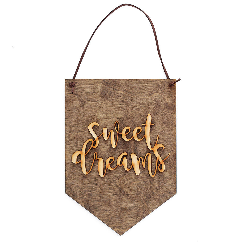 'Sweet Dreams' Wall Sign