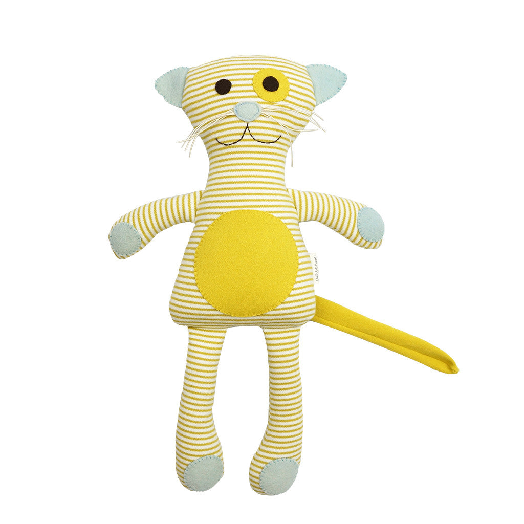 Organic Cat Doll Blue
