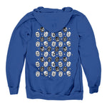 Kate Foray  Midweight Pullover Hoodie Royal Blue