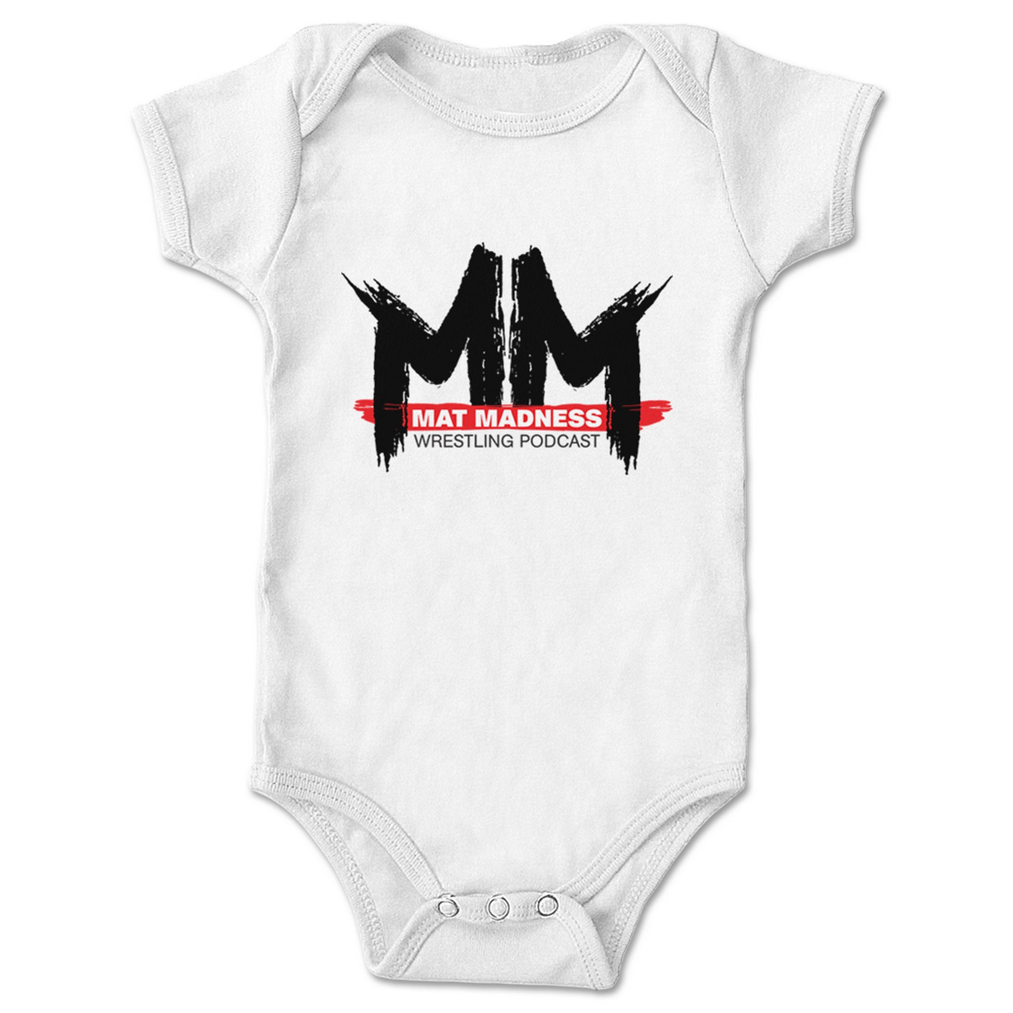 Mat Madness Mat Madness Franchise Logo Infant Onesie What A