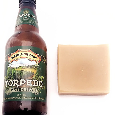Beer Soap Extra IPA, Vegan, Handcrafted, Unscented/clearance