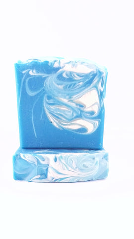 Blue Orchid Vegan handcrafted soap