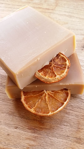 Citrus Coconut Blossom Vegan handcrafted soap