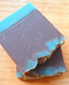 Blue Sugar - Vegan Handcrafted Soap/clearance