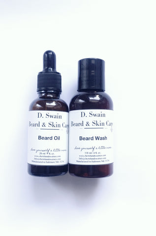 D. Swain Beard & Skincare Bundle (Introductory Price)