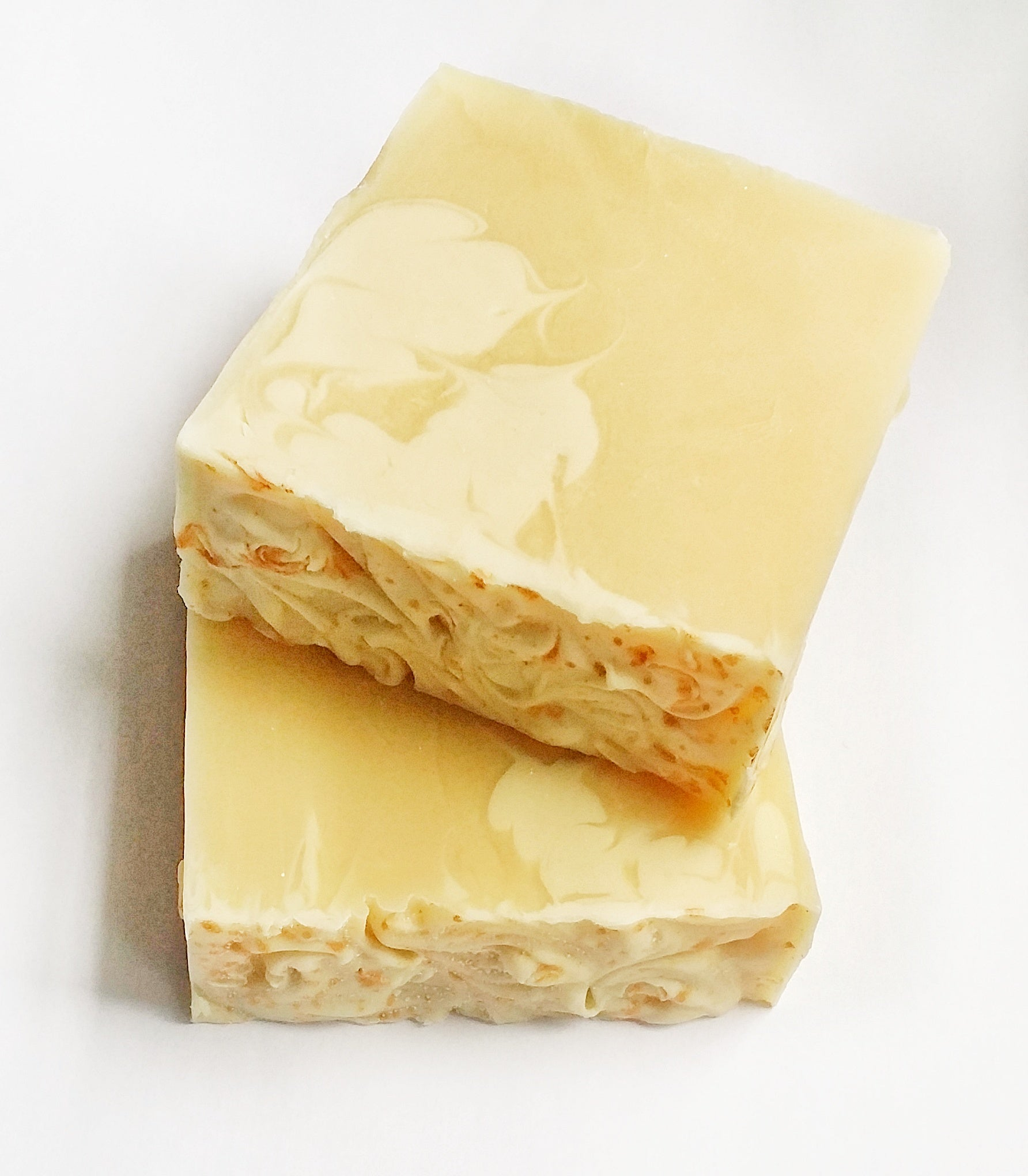 White Peach Silk Blossom - Vegan Handcrafted Soap