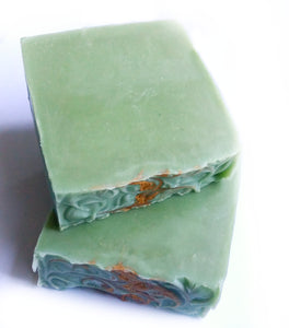 Avocado w/ Patchouli + Spearmint Artisan Soap
