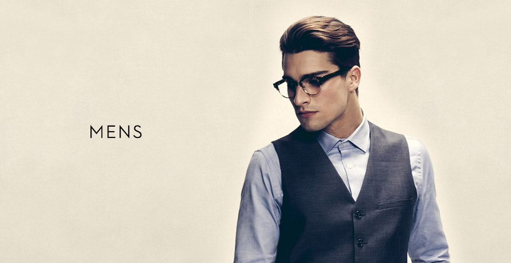 mens spectacles banner